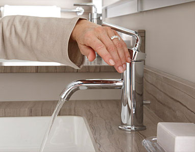 Easy Push Faucets
